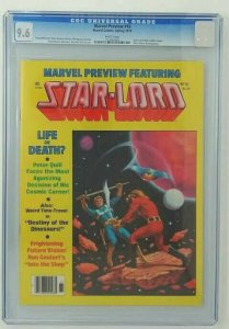 Marvel Preview #18 ~ 1979 Marvel ~ CGC 9.6 NM+ ~ Star Lord Bob Larkin Cover