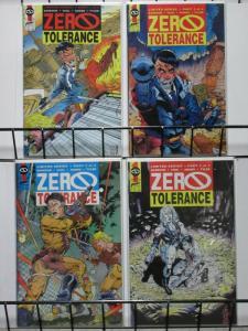 ZERO TOLERANCE (FIRST) 1-4  VIGIL & TYLER  complete!