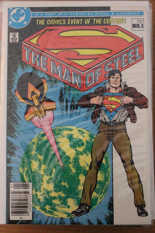 Man of Steel 6 Part Mini Series  #1 NM