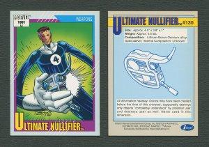 1991 Marvel Comics II  Card  #130 ( Ultimate Nullifier )  MINT