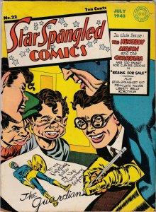 Star Spangled Comics 22 VG (july 1943)