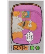 1990 Topps The Simpsons - I SAID, KNOCK IT OFF #59