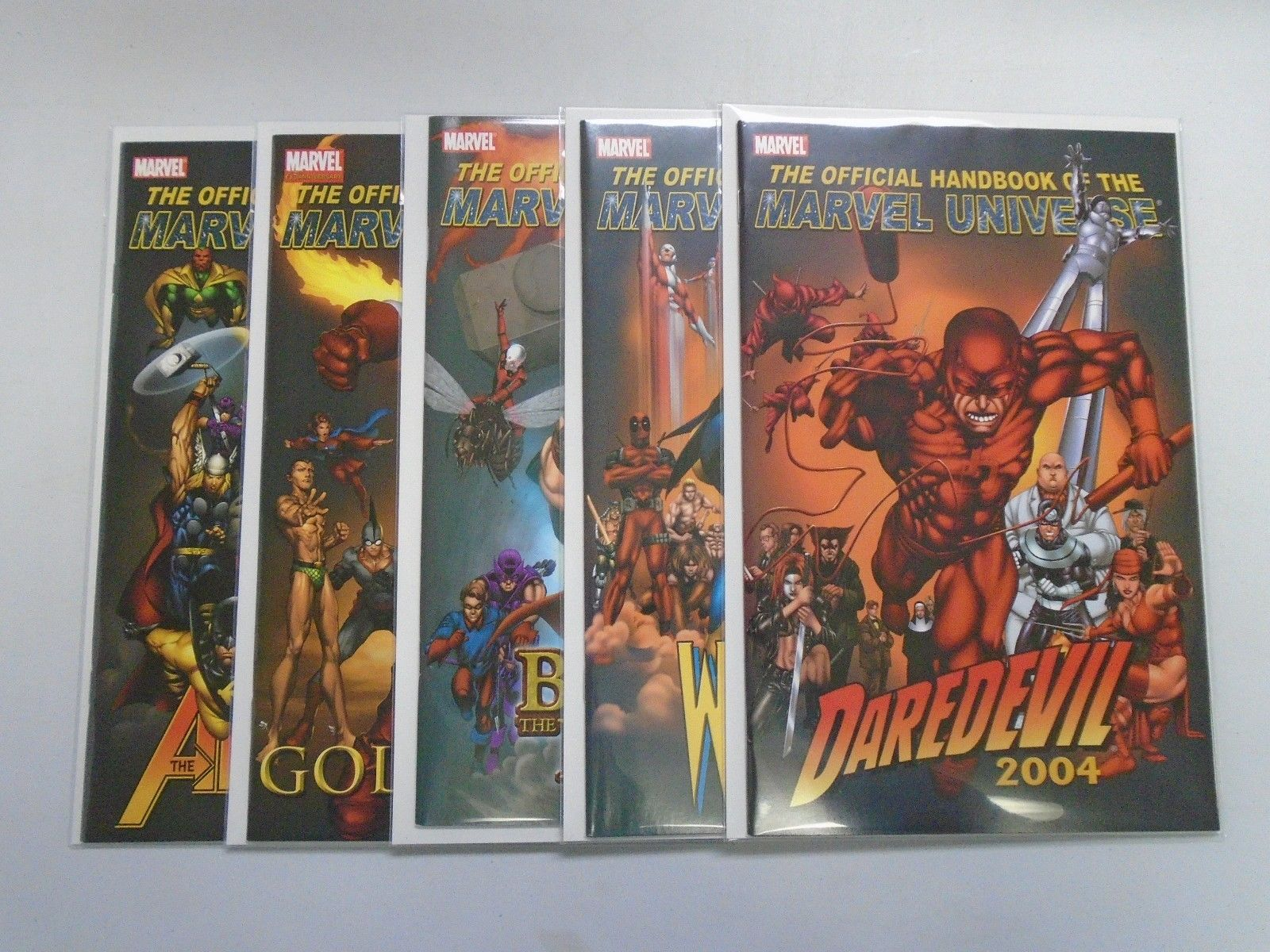 2004 Marvel Comics The Official Handbook Of The Marvel Universe Daredevil