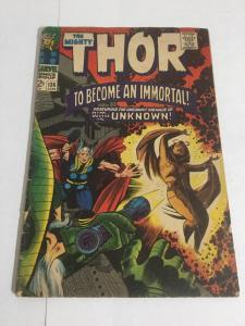 Thor 136 Gd Good 2.0 Marvel Comics Silver Age