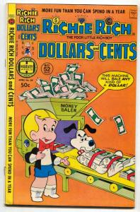 Richie Rich Dollars and Cents #85 1978- Harvey comics FN