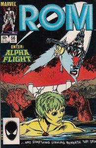 Marvel Comics! Rom! Issue 56!