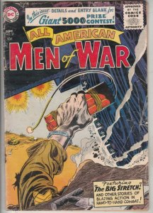 All-American Men of War #37 (Sep-57) VG Affordable-Grade