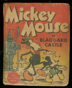 MICKEY MOUSE #726-BLAGGARD CASTLE-BIG LITTLE BOOK 1934 VG