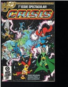 Crisis on Infinite Earths #1 (DC, 1985) NM - KEY