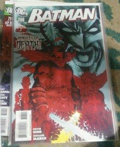 Batman #708 2011 dc comics  judgement on gotham pt 1 catgirl red robin