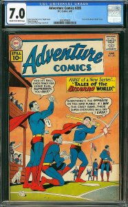 Adventure Comics #285 (DC, 1961) CGC 7.0