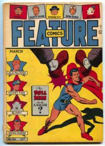 Feature Comics #86 1944- DOLL MAN- coupon cut out back cover