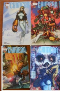 4 Near-Mint Crossgen CHIMERA Comic #1 2 3 4 (2003) Marz Peterson (Complete Set)