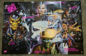 HUGE Retailer 50 x 34 Punisher War Zone The Big Guns Comic Poster Marvel NEW