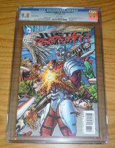Justice League of America #7.1 CGC 9.8 deadshot #1 - 3-D lenticular variant 2nd