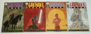 Grendel Tales: Devil's Choices #1-4 VF/NM complete series DARKO MACAN set lot