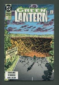 Green Lantern #4 / 9.2 NM-  (2nd Series)  September 1990