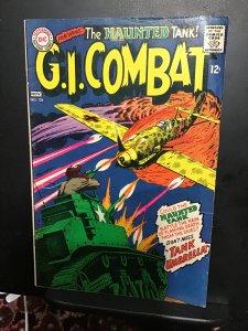 G.I. Combat #126 (1967) Mid-high-grade Joe Kubert Haunted Tank key! FN+ Wow!