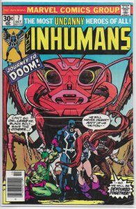 Inhumans (vol. 1, 1975) # 7 VG Moench/Kane, Buckler cover, Maximus