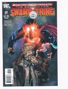 The Search For Swamp Thing # 2 NM DC Comics Limited Series Superman Batman S93
