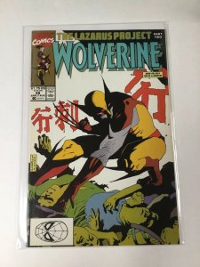 Wolverine 28 Lazarus Project Nm Near Mint marvel