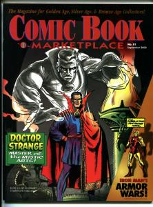 Comic Book Marketplace #81 2000-Gemstone-Dr Strange-Iron Man-collector info-VF
