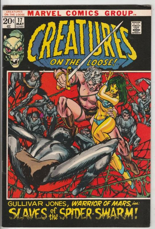 Creatures on the Loose #17 (May-72) VF/NM High-Grade