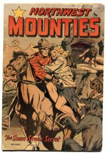 Approved  #12 1951-St John-Northwest Mounties-Matt Baker Good Girl art