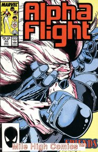ALPHA FLIGHT (1983 Series)  #46 Very Fine Comics Book