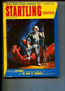 Startling Stories-Pulp-3/1953-Chad Oliver-Sam Merwin, Jr
