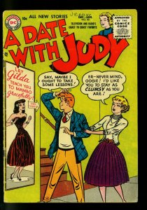 Date with Judy #50 1955- Mambo lessons- DC  Humor- G+