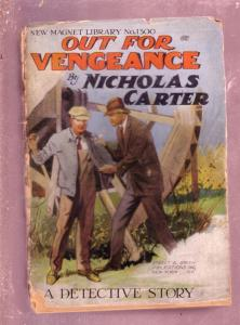 NEW MAGNET LIBRARY-#1300-OUT VENGEANCE-NICK CARTER FR