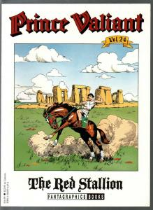 Prince Valiant #24 1995-Fantagraphics-color reprint-Hal Foster-Red Stallion-VF