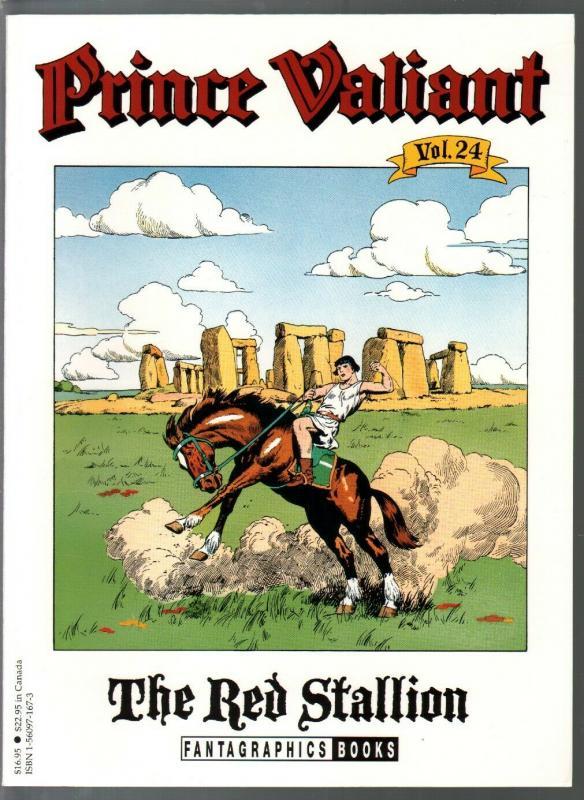 Prince Valiant #24 1995-Fantagraphics-color reprint-Hal Foster-Red Stallion-VF