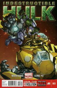 Indestructible Hulk #3 VF/NM; Marvel   save on shipping - details inside