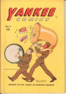 YANKEE COMICS (1941 CHESLER) 4 FINE JACK COLE, McKAY JR