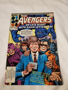 Avengers 239 VF/NM Late Night of the Super-Stars