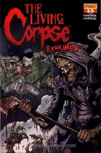 Living Corpse, The: Exhumed #5B VF; Dynamite | save on shipping - details inside