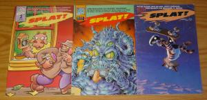 Splat! #1-3 VF/NM complete series ALAN MOORE ted mckeever PETE BAGGE mad dog 2