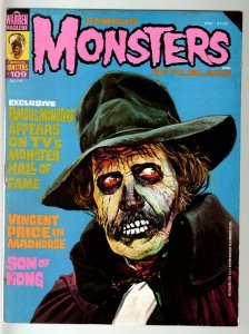 FAMOUS MONSTERS OF FILMLAND #109-VINCENT PRICE-SON OF KONG-BORIS KARLOFF-19 VG