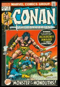 CONAN THE BARBARIAN #21 1973-BARRY SMITH VF