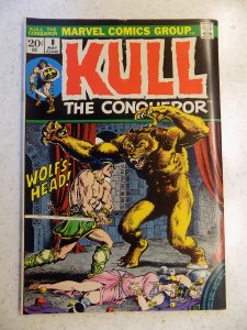 KULL THE CONQUEROR # 8 MARVEL FANTASY CONAN SWORD SORCERY