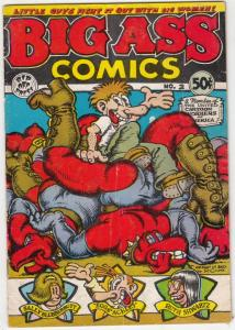 Big Ass Comics #2 (Aug-71) VG Affordable-Grade Eggs Ackley