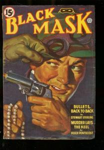 BLACK MASK PULP JUNE 1943-SPECIAL SQUAD-CANADIAN VAR VG/FN