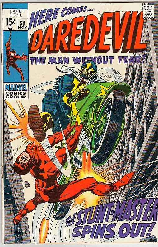 Daredevil #58 (Nov-69) VF/NM High-Grade Daredevil