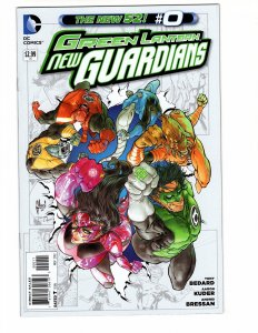 Green Lantern New Guardians #0 (VF/NM) ID#MBX1