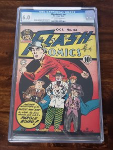 Flash Comics 46 CGC 6.0