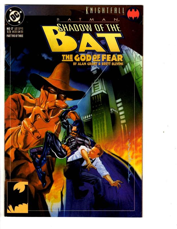 7 Batman Shadow of the Bat DC Comic Books # 2 4 11 12 17 18 19 Azrael Robin WM2