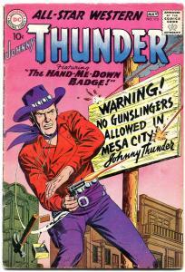 All-Star Western #112 1960-Johnny Thunder-Trigger Twins VG