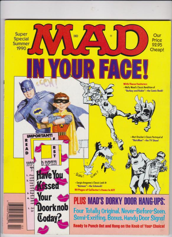 MAD IN YOUR FACE / SUMMER 1990 / SUPER-SPECIAL